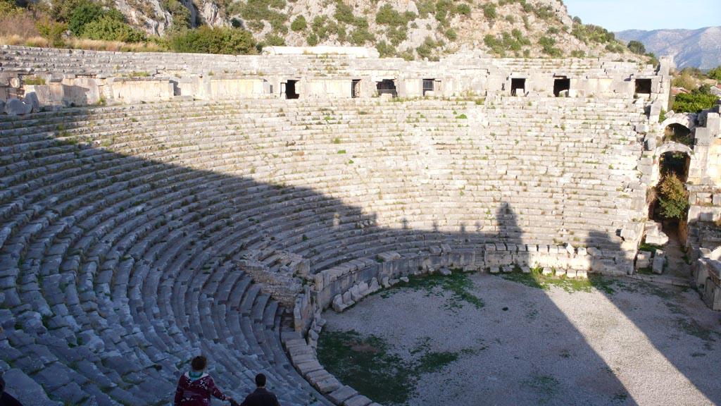 Амфитеатр в Ликийском городе Мира