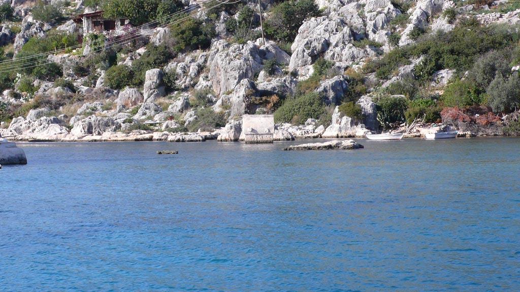 Кекова - остров и залив в Турецком средиземноморье